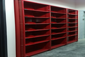 Automotive Shelving for Car Dealership