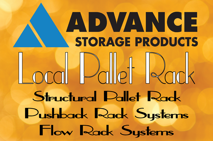 Advance Storage Products Structural Pallet Rack: Very Narrow Aisle