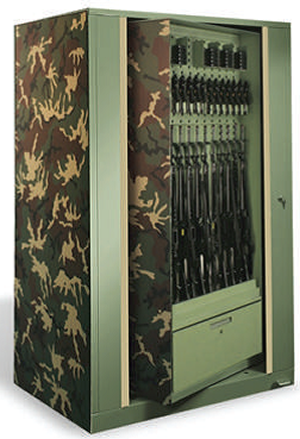 Aurora Times-2 Rotary Cabinet, Spinning Rotary Cabinet, Pass-Through Storage, Weapons Storage Cabinet, Rotating Cabinet, Speed Files