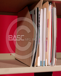 BASC Mfg. Open Shelf Filing Salt Lake City, UT, Open Filing Shelving, ALLSTOR Filer, Mixed Shelf Filing, File Storage and Retrieval