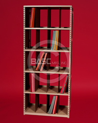 BASC Mfg. X-Ray Filing System Utah, ALLSTOR X-Ray Filer, Medical Shelving Storage, X-Ray Shelving Storage