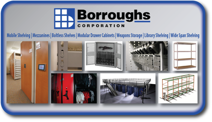 Borroughs, Mobile Shelving, Mezzanines, Boltless Shelves, Modular Drawer Cabinets, Weapons Storage, Library Shelving, Wide Span Shelving Salt Lake City, UT