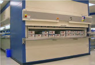 Automated Central Processing Storage Solutions from NationWide Shelving