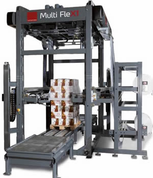 Lachenmeier Multi FleX1 Stretch Wrap Machine in Salt Lake City, UT