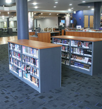 Metal Library Shelving Specifications