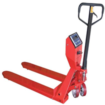 Pallet Jacks easily move pallet across the warehouse.