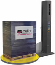 h wrap equipment can secure pallet loads quickly and efficiently