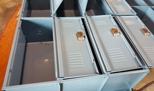 Vanguard Lockers for Medical Technology Company